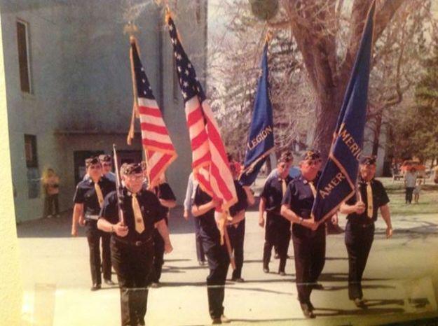 American Legion: Chauncey Eagle Horn Post #125 of Rosebud, SD