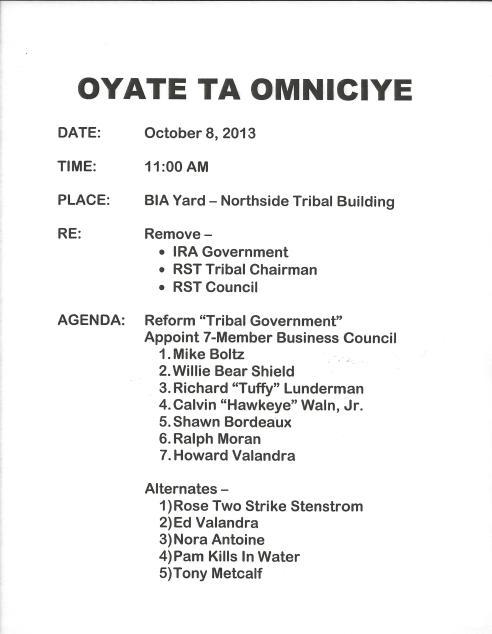 Oyate Ta Omniciye