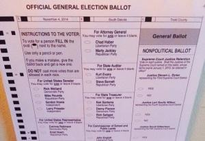 2014 ballot