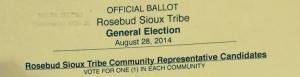 RST Election Ballot 2014-1