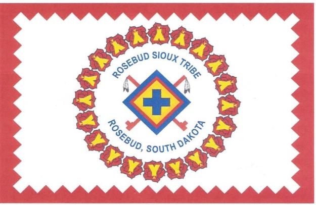Rosebud Sioux Tribal Flag0002