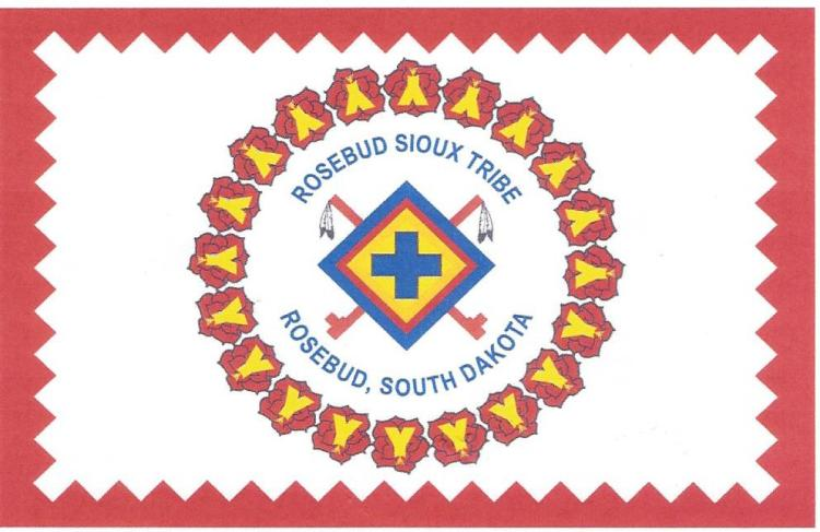 Rosebud Sioux Tribal Flag0002