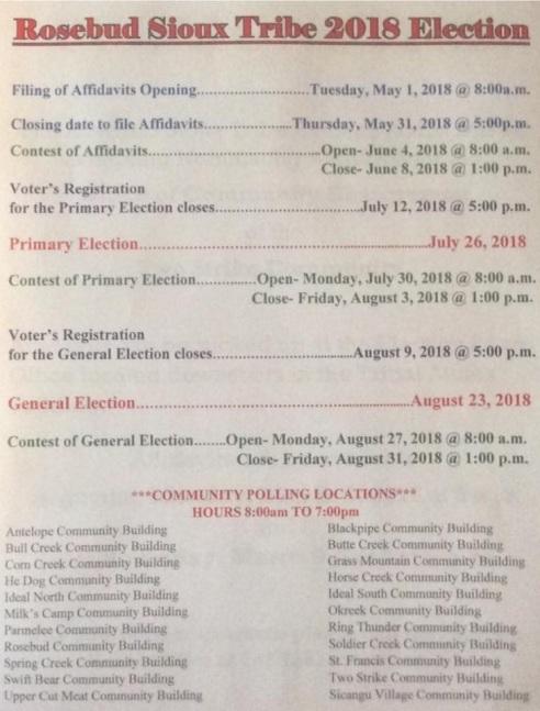 2018 RST Election I